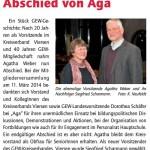 nds Abschied von Aga