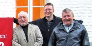 Manfred mit Klaus und Björn